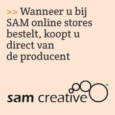 Wanneer u bij SAM online stores bestelt, koopt u direct van de producent.